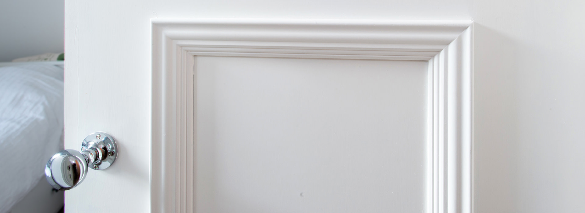 Doors with oversized moulding