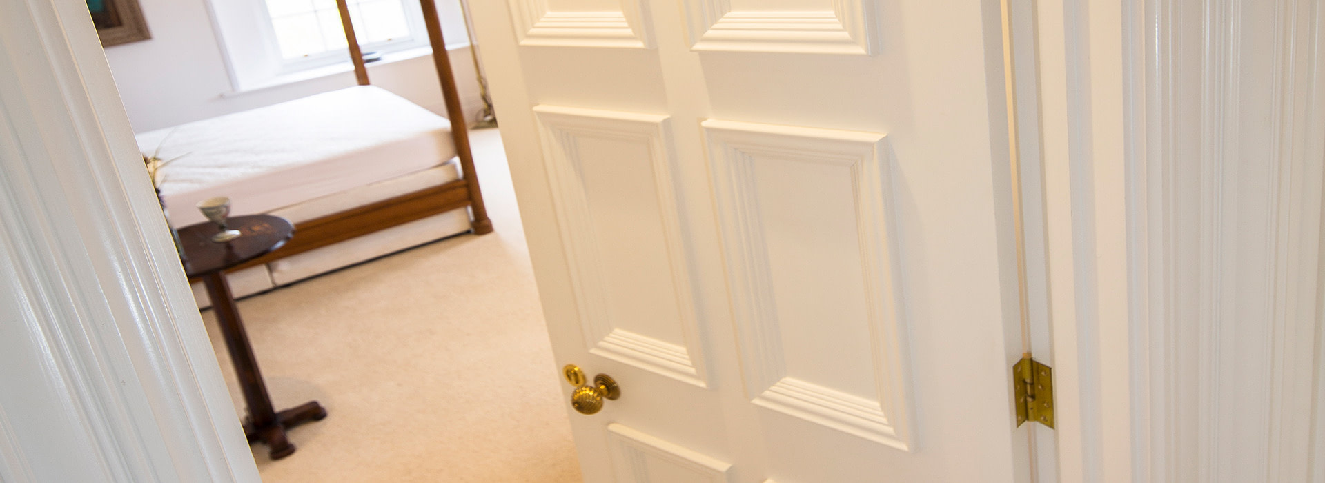 Internal doors with over-sized moulding