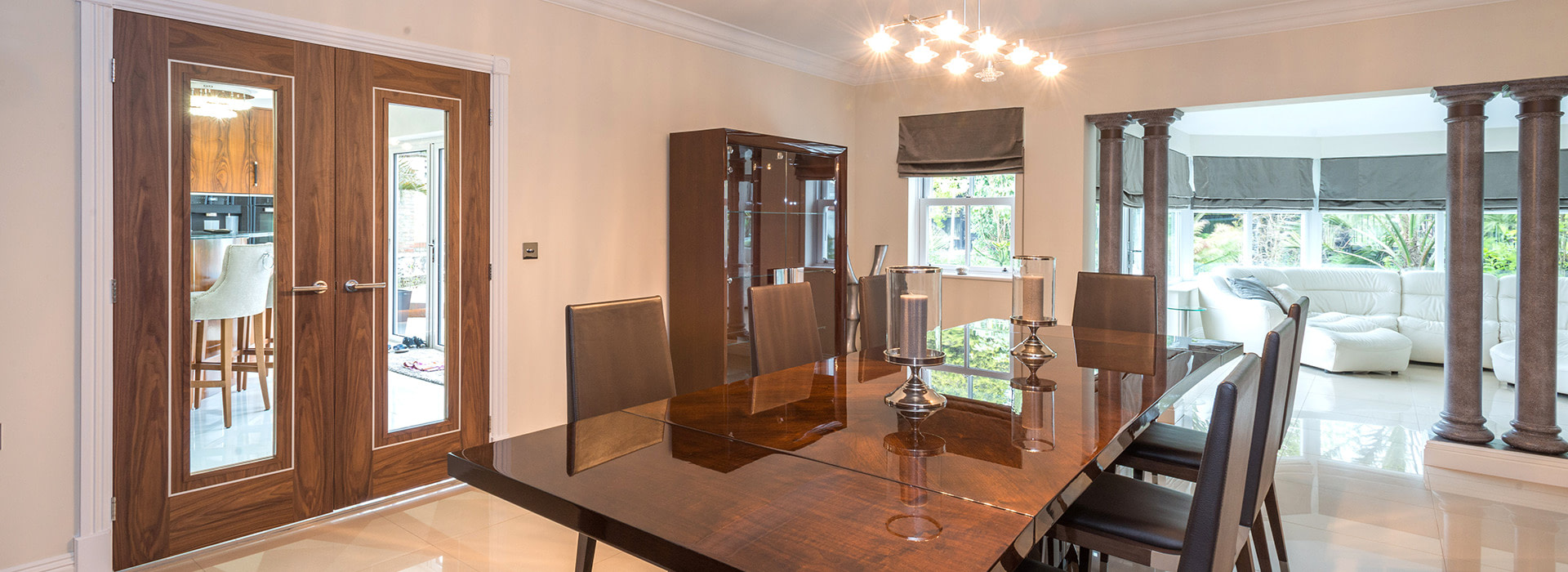 High Gloss Dining Table Ten Seater