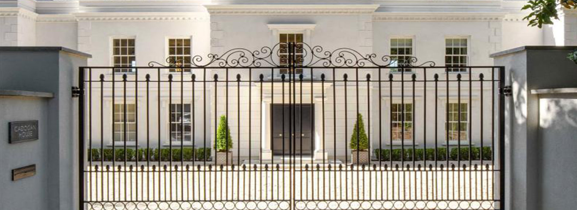 Private gated residence